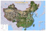 Link toChina landscape image map psd