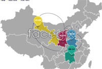 Link toChina map vector