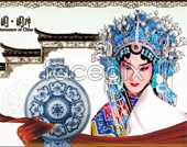 Chinese ceramic culture psd