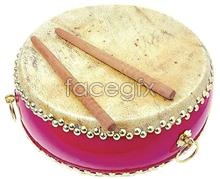 Link toChinese classical hanging drum psd