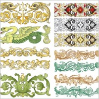 Link toChinese classical pattern vector pattern