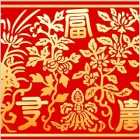 Link toChinese classical pattern vector wealth patterns