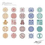 Link toChinese cultural pattern vector