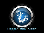 Link toChinese dragon glossy icons