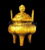 Link toChinese gold tripod psd