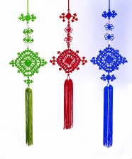 Link toChinese knot picture material