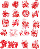 Link toChinese new year pictures design vector