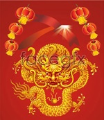 Link toChinese new year poster vector
