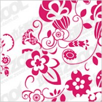 Link toChinese paper-cut style pattern vector