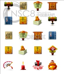 Link toChinese small wind desktop icons