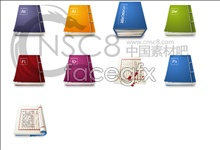 Link toChinese style book icons