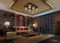 Link toChinese-style living room scene model