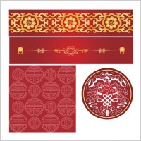 Link toChinese style pattern vector
