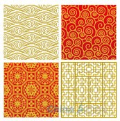 Link toChinese-style pattern vector style