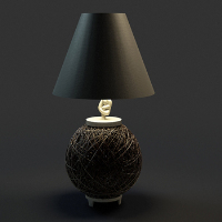 Link toChinese temperament elegant bird's nest table lamp