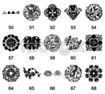 Link toChinese traditional decorative patterns: 6 vector