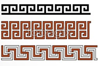 Link toChinese traditional pattern borders, vector