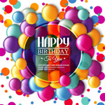 Link toChocolate birthday cards vector
