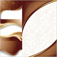 Link toChocolate dynamic lines of the background vector