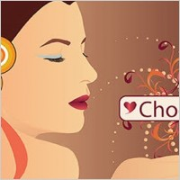 Link toChocolate woman vector