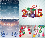Link toChristmas and new year ideas vector