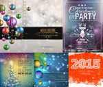 Link toChristmas and new year themes vector