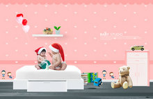 Link toChristmas baby wallpaper psd
