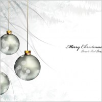 Link toChristmas background ball beautiful 01 vector