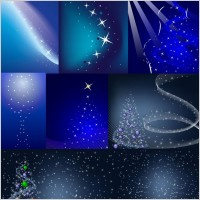 Link toChristmas background vector spot