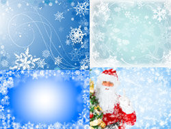 Link toChristmas backgrounds-blue-hd pictures