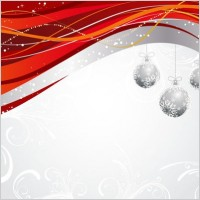 Link toChristmas ball hanging dynamic background pattern vector
