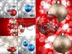 Christmas balls 11 vector