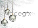 Link toChristmas balls background 01 vector