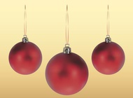 Link toChristmas balls image vector free