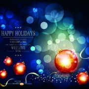 Link toChristmas baubles and holiday background vector