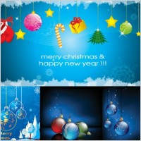 Link toChristmas beautiful elements vector