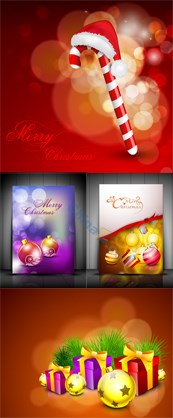 Link toChristmas card vector design elements