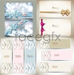 Link toChristmas cards and banners vector
