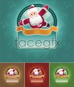 Link toChristmas cartoon backgrounds vector