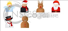Link toChristmas character icons
