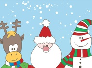 Link toChristmas characters vector free