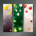 Link toChristmas decoration banner vector