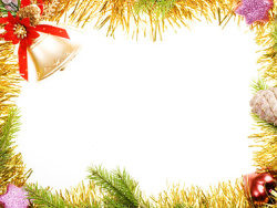 Link toChristmas decoration border picture material