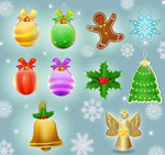 Link toChristmas decoration design vector
