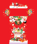 Link toChristmas decoration material psd