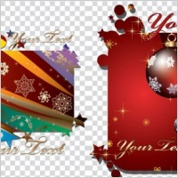 Link toChristmas decorations vector