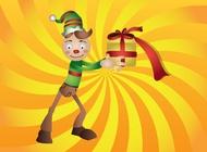 Link toChristmas elf vector free