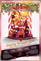 Link toChristmas eve party flyer template