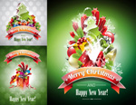 Link toChristmas flyer templates vector