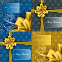 Link toChristmas gift box packaging vector